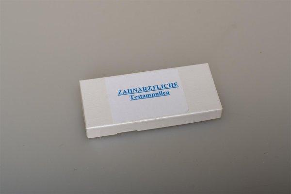Zahnärztlicher Basistestsatz